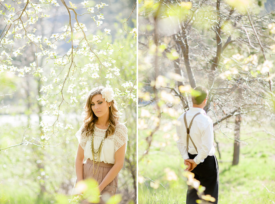 fine art wedding photography, fine art engagement session, lake arrowhead engagement, crestline engagement session, forest engagement session, blooming tree style shoot, blooming tree engagement session, photography like jose villa, southern california fine art wedding photgrapher, orange county wedding photographer