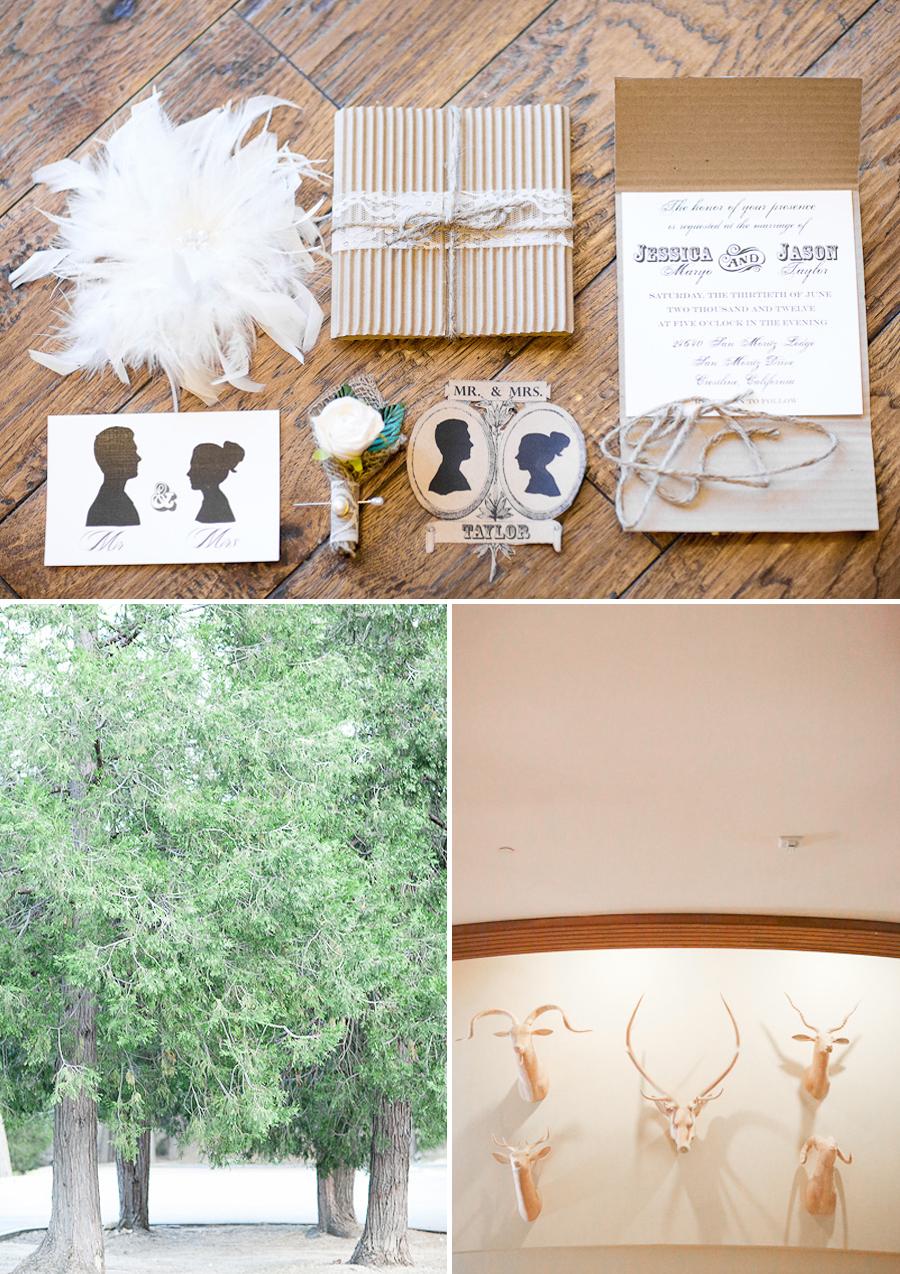 cardboard and lace wedding invites, western themed invites, rustic wedding invitations, vintage wedding invitations,fine art wedding photography, forest wedding, fine art wedding portraiture, soft light