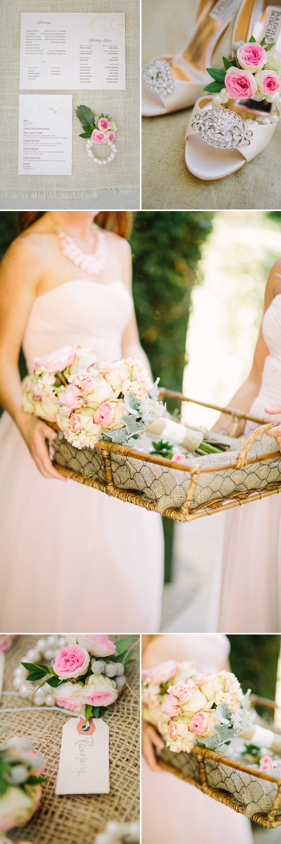 badgley mischka bridal shoes, southern california fine art wedding photographer, ponte winery wedding, vineyard wedding, winery wedding, temecula wedding, glowy wedding photography, fine art photography